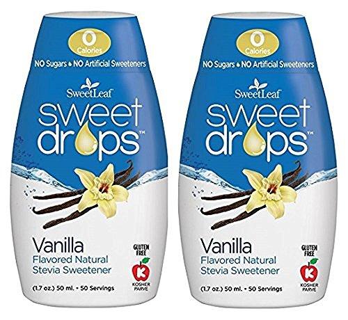 - Sweet Leaf Sweet Drops Vanilla Flavor, 1.7 Fluid Ounce