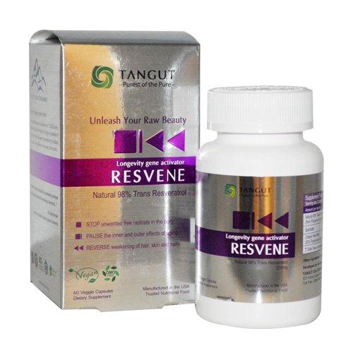 Tangut Resvene Trans Resveratrol, 60 Count