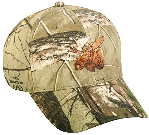 Hunting Camo Moose Blended Cap Hat 232,Hunting Camo,One Size Fits Most