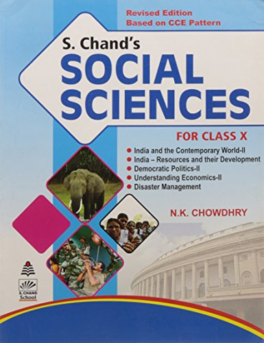 S.Chand's Social Sciences for Class X [Perfect Paperback] [Jan 01, 2017] N.K. Chouwdhry