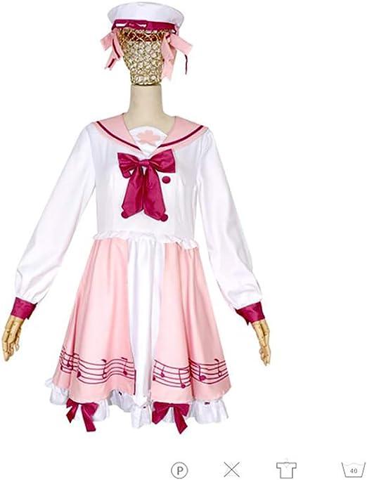 SHIXUE Hatsune Miku Disfraz Cosplay Adulto Disfraz De Halloween ...