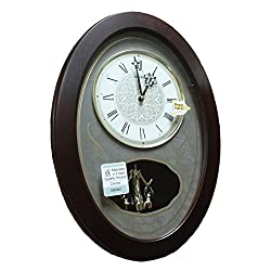 Seiko QXM373BLH Japanese Quartz Wall Clock