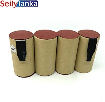 Seilylanka 3000mAh para QUIGG 4.8V Ni MH Paquete de baterías Aspiradora de CD RV-149 AC 230 220 AC220 AC230 para autoinstalación: Amazon.es: Bricolaje y herramientas