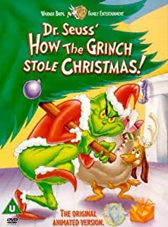 dr seuss how the grinch stole christmas dvd 2001