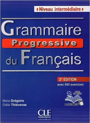 Francais pdf grammaire progressive du