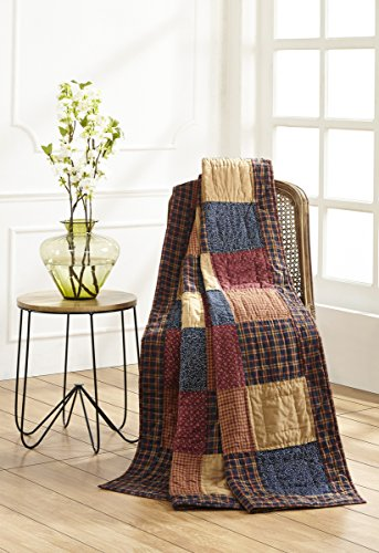 Olivia's Heartland Old Glory Quilted Throw