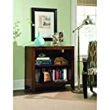Hooker Furniture Danforth Low Bookcase in Rich Medium Brown Review
