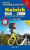 Pocket-Fahrradkarte Hainich: Maßstab 1:50.000. Wasser- und reißfest. (Fahrradkarten)