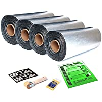 175 sqft Total GTmat Pro 50mil Automotive Car Sound Deadener Road Noise Dampening Insulation Includes: Roller, Degreaser and Instructions