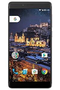 "Figo Gravity- 4G LTE GSM Unlocked OctaCore 1.3 GHz 3GB Ram 32GB Storage Android 6 Camera 13MP/5MP Fingerprint Sensor 3000Mah Battery 5.5"" HD IPS Display Full Metallic Body (Gray) - 1 Year Warranty"