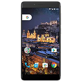"Figo Gravity- 4G LTE GSM Unlocked OctaCore 1.3 GHz 3GB Ram 32GB Storage Android 6 Camera 13MP/5MP Fingerprint Sensor 3000Mah Battery 5.5"" HD IPS Display Full Metallic Body (Gray)"