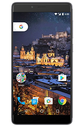 Figo Gravity- 4G LTE GSM Unlocked OctaCore 1.3 GHz 3GB Ram 32GB Storage Android 6 Camera 13MP/5MP Fingerprint Sensor 3000Mah Battery 5.5'' HD IPS Display Full Metallic Body (Gray) - 1 Year Warranty by FIGO