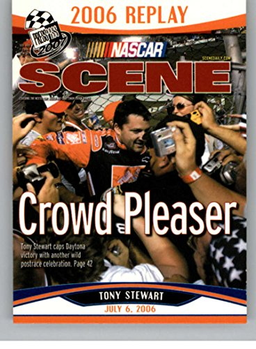 2007 Press Pass Blue #B91 Tony Stewart NS -