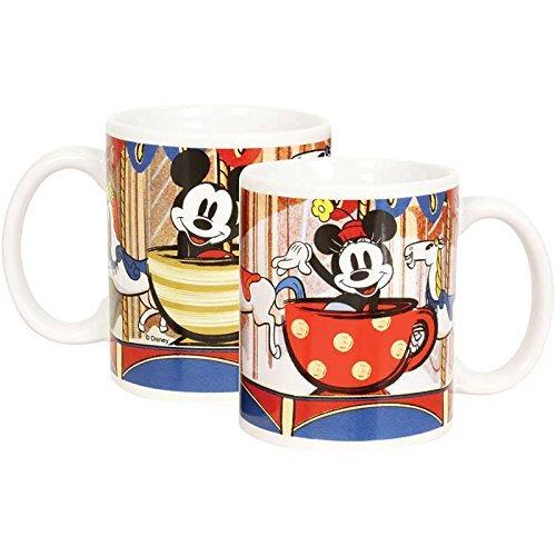 Disney Mickey Mouse and Minnie Mouse Boxed 11 Fl. Oz. Coffee Mug Coffee Mug Bib