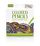 Crayola Colored Pencils, 50 Count, Vibrant Colors, Pre-sharpened, great for Adult Coloring