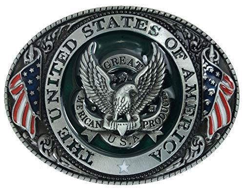 Bald Eagle Belt Buckle - 2