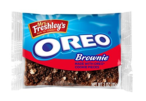 Mrs. Freshley's Oreo Brownies - 8 Pack Individually Wrapped