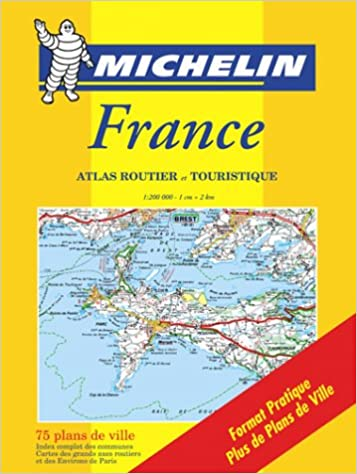 Amazon Fr Atlas Routiers France N 20098 Petit Format