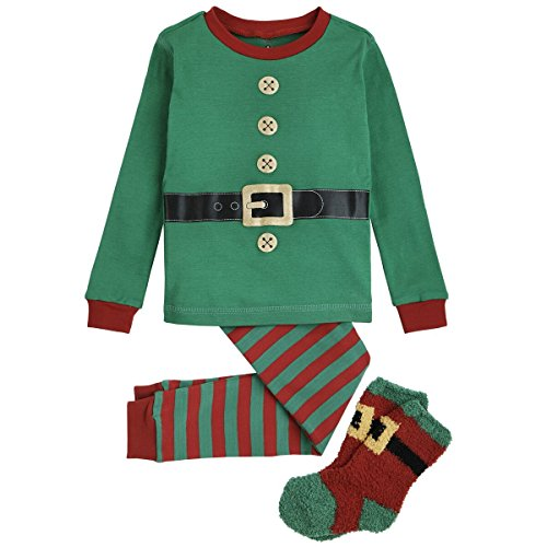 Petit Lem Big Boys' Holiday Boy/Girl 3 Pcs Set Pyjama-Ls ...
