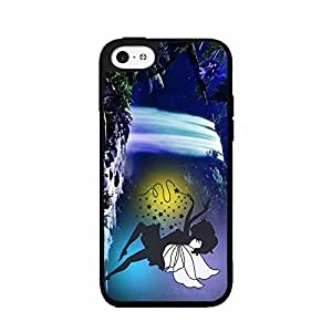 Cute Fairy at Waterfall TPU RUBBER SILICONE Phone Case Back Cover iPhone 5 5s