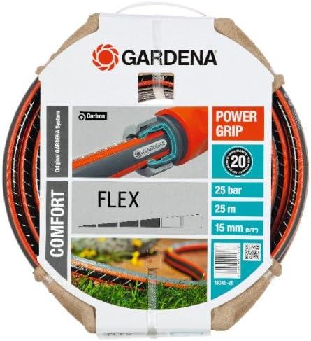 Gardena Manguera Flex Ø 15 mm Rollo de 25 m, Estándar: Amazon.es: Bricolaje y herramientas