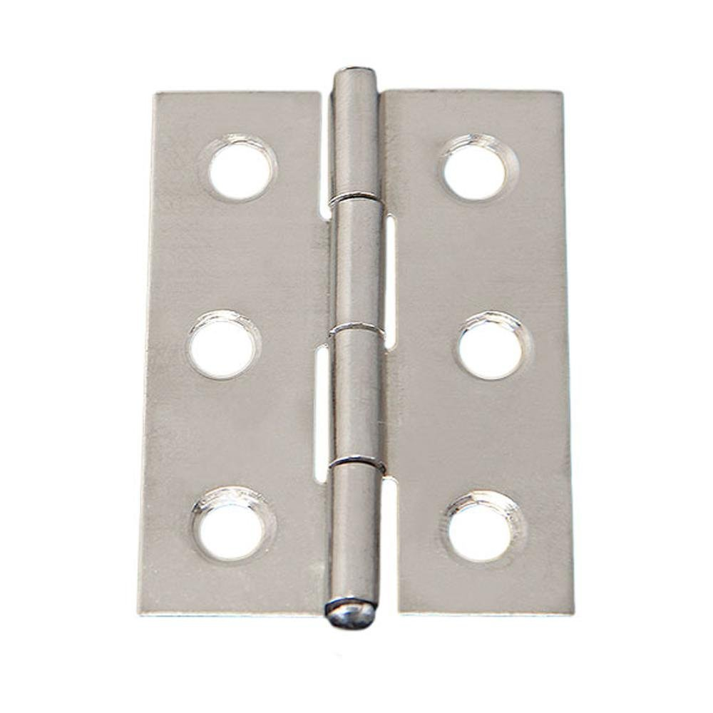 Hinge Stainless - SODIAL(R)Hinge Stainless Steel 2 ''cabinet Closet Door