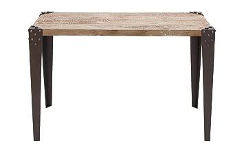 Super Deco 79 Metal Wood Console Table 42 X 16 X 30 Inch Brown Machost Co Dining Chair Design Ideas Machostcouk