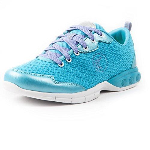 Therafit Shoe Women's Candy 's Mesh Active Walking Shoe 7 Blue