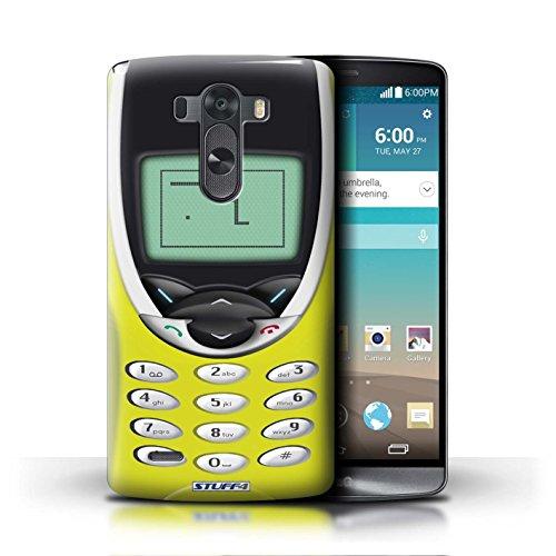 Kobalt® Imprimé Etui / Coque pour LG G3/D850/D855 / Nokia 8210 jaune conception / Série Portables rétro