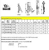 All-Material-Handling-LC015-20-Badger-Lever-Chain-Hoist-15-Ton-20-Lift