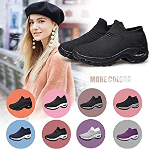 YHOON Womens Walking Shoes Nurse Comfortable