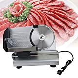 LMM02 O 7.5'' Blade Electric Meat Slicer Stainless Steel
