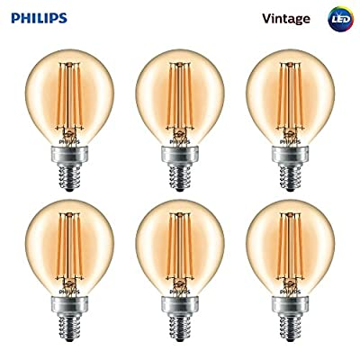 Philips LED Dimmable Vintage Light Bulbs