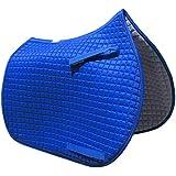 Royal Blue All-purpose English Saddle Pad