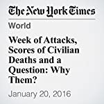 Week of Attacks, Scores of Civilian Deaths and a Question: Why Them? | Andrew Jacobs