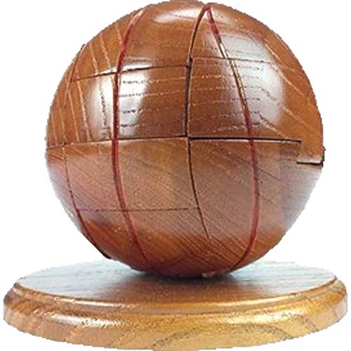 Sized Wood Puzzles Jumbo - Project Genius Ultimate Sports - Puzzle-Trivia Combination: Basketball, Wooden