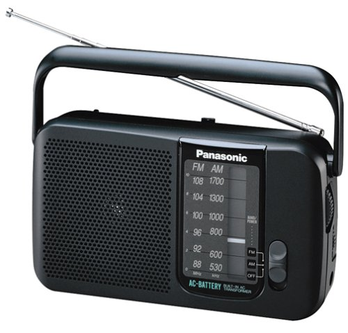 Panasonic RF544 AC/Battery Operated AM/FM Portable Radio