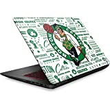 Skinit NBA Boston Celtics Omen 15in Skin - Boston Celtics Historic Blast Design - Ultra Thin, Lightweight Vinyl Decal Protection