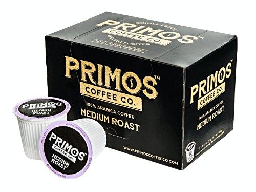 Single Origin Specialty Coffee Single Serve Cups (Medium Roast, 3 Cartons with 12 Cups Per Carton)