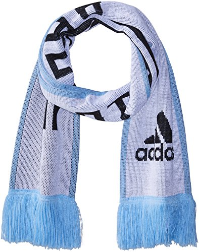 adidas World Cup Soccer Argentina Home Scarf, One Size, White/Clear Blue/Black