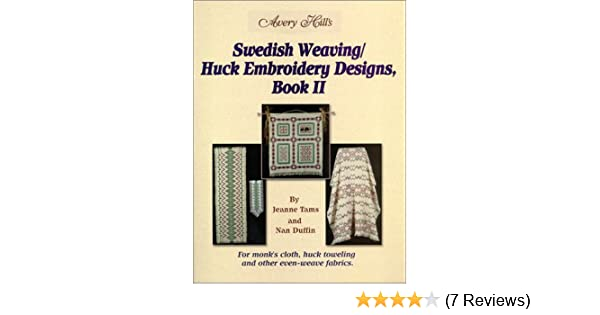 Swedish Weavinghuck Embroidery Designs Book 2 Nan Duffin Jeanne