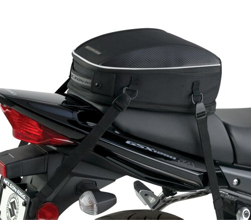 Sport Black Tail (Nelson-Rigg (CL-1060) Black Sport Tail/Seat Bag)