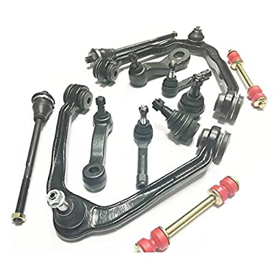 13 Pc Suspension Kit for Cadillac Chevrolet GMC Control Arms Tie Rods Ball Joint