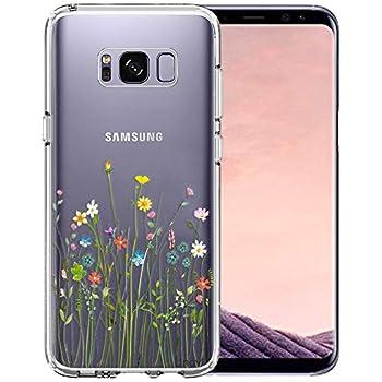 Amazon.com: KIOMY Galaxy S8 Case, Crystal Clear Case with ...