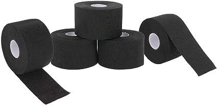 Image ofAnself 5 rollos desechables para protección del cuello tiras de papel volantes para el cuellorollo de papel profesional para corte de cabello (5 pcs)