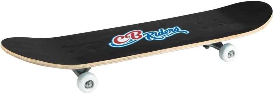 COLORBABY Skateboard aus Holz mit Aluminium Achse und Rollen PVC 50/x 30/mm Gro/ßer Fu/ß Gr/ö/ße 79/x 20/cm