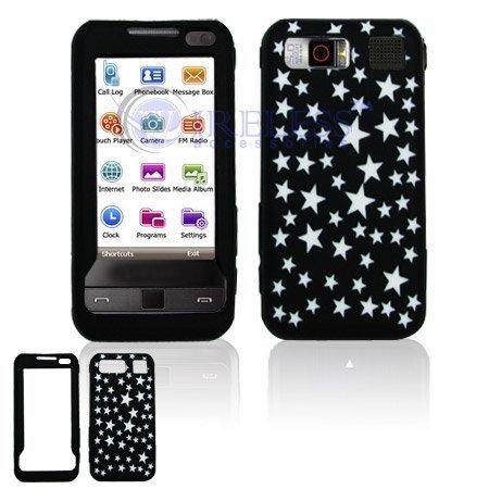 Purple and Black Zebra Animal Design Laser Cut Silicone Skin Cover Case Cell Phone Protector for Samsung Omnia i910 i900 - Laser Silicone Skin Zebra