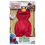 Sesame Street Love to Hug Elmo Talking, Singing, Hugging 14' Plush Toy for Toddlers, Kids 18 Months & Up