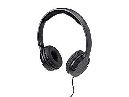 ff8093feabe Monoprice Hi-Fi Lightweight On-Ear Headphones with in-Line Play/Pause