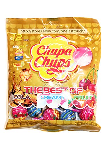 chupa chups lollipop the best (1 Pack)